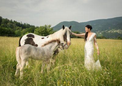 Svatba v přírodě Beskydy